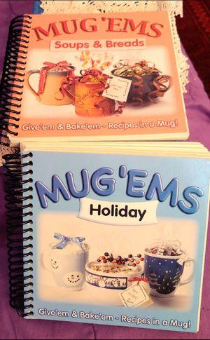 2 MUG 'EMS BOOK RECIPES TO GIVE WITH ANY MUG for Sale in Yuma, AZ