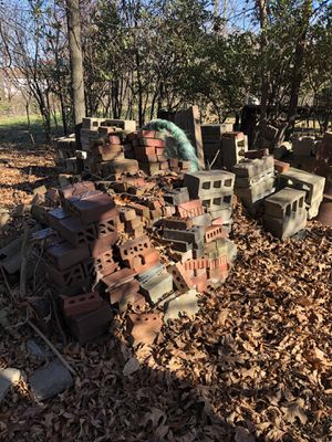 Assorted bricks and blocks for Sale in Gower, MO