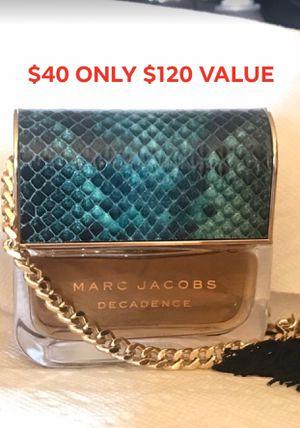 Marc Jacobs Decadence 3.4 fl oz for Sale in Chula Vista, CA