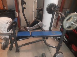 Golds gym weight bench for Sale in Garfield Heights, OH