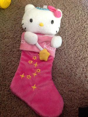 Hello kitty stocking for Sale in Vista, CA