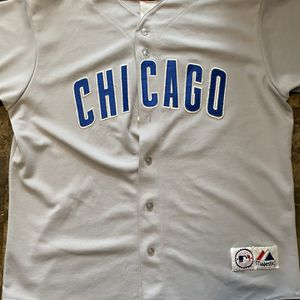 Kerry Wood #34 STITCHED Chicago Cubs Baseball Jersey Men's Size L for Sale in West Dundee, IL