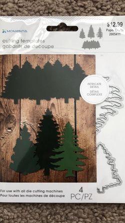 Tree Die Cut Cutting Template Sracpbook for Sale in Shepherdstown,  WV