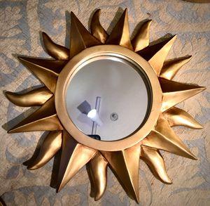 Decorative wall accent mirror Sun W11/5 inch Lbs 2 for Sale in Sun Lakes, AZ
