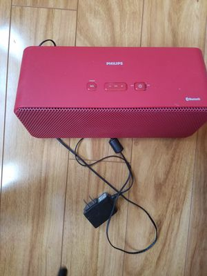 Phillips Bluetooth speaker for Sale in Apex, NC