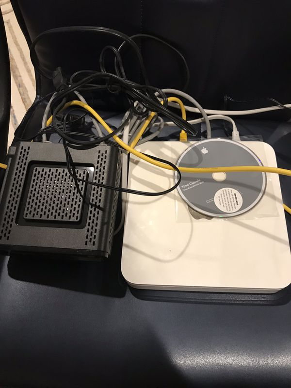 Cable modem and wireless router