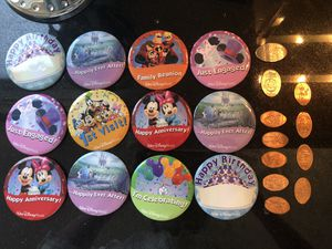 Disney pin and coins for Sale in Bellevue, WA