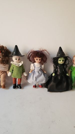 Vintage wizard of oz figures by Alexander LTD Macdonald toys for Sale in Los Angeles, CA