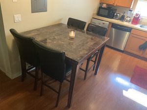 Kitchen/Dining Room Table w/ Chairs Counter Height for Sale in Seattle, WA