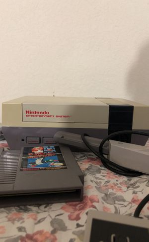 NES, 3 controllers, Mario duck hunt and gun for Sale in West Palm Beach, FL
