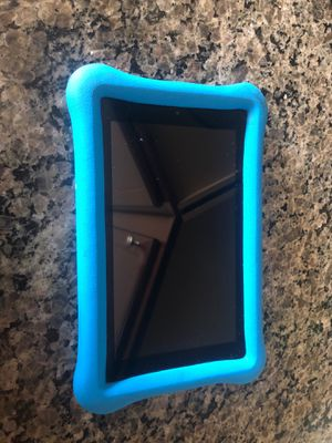 Amazon fire tablet with kids cover for Sale in Leesburg, VA