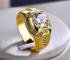 ❤SALE❤❤18K Gold Over S925 Sterling Silver Lab Diamond Men's Wedding Ring Size 11 for Sale in Aspen Hill, MD