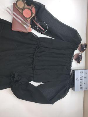 Loose black off the shoulder dress for Sale in Manassas, VA