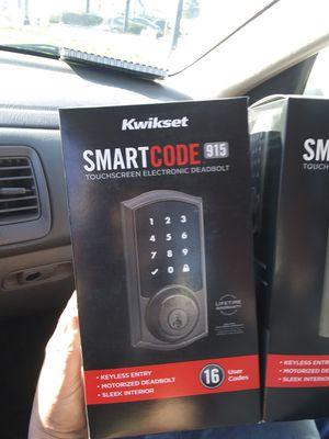 Kwikset Smartcode 915 Bluetooth Smartlock for Sale in Columbus, OH