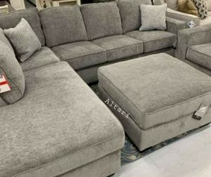 🎉💲39 Down Payment🎉Special Altari Alloy Laf Sectional And Ottoman🚛Same Day Delivery for Sale in Alexandria, VA