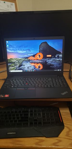 Laptop New Lenovo 20NF0018US E595 ThinkPad with free laptop backpack and Webroot internet security for Sale in Topeka, KS