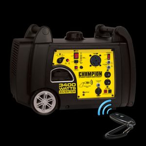Champion 3400-Watt RV Ready Portable Inverter Generator with Wireless Remote Start for Sale in Los Angeles, CA