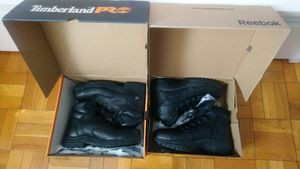 Timberland and Reebok work boots size 10.5 for Sale in Arlington, VA