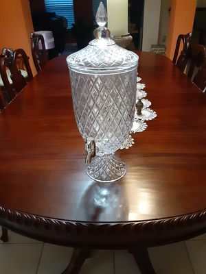 Pomo para bebida con llave cristal fino for Sale in Cutler Bay, FL