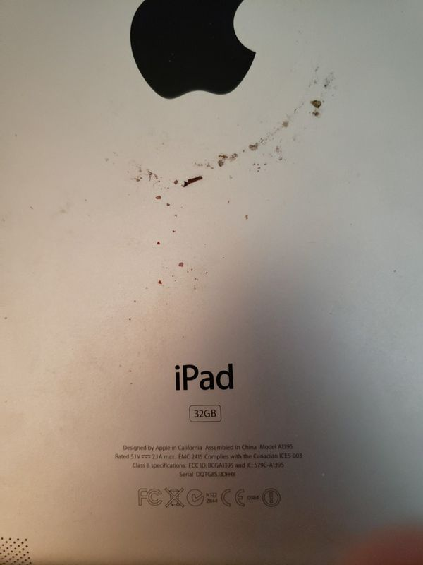 iPad 32 GB new screen wont turn on but fixable