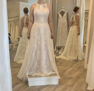 Ivory bohemian wedding dress for Sale in Norfolk, VA