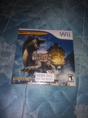 Monster Hunter Demo Disc for Sale in Las Vegas, NV