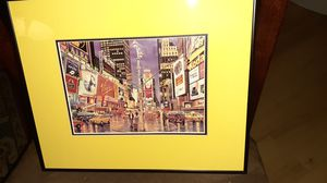 Framed Times Square Print for Sale in Washington, DC