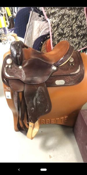 Circle Y Saddle 16 inch Seat FQHB for Sale in Swatara, PA