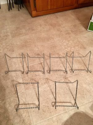 Picture frame holders. Set of six. for Sale in Phenix, VA