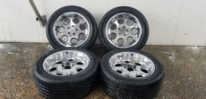 4 20in 5x135 wheels rims tires. Expedition. Ford f150 for Sale in Rockville, MD