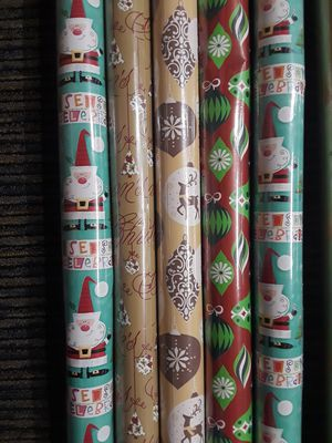 Christmas decoration giftwrap, brand new. for Sale in Riverside, CA