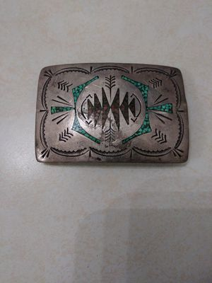 Sterling silver belt buckle for Sale in Phoenix, AZ