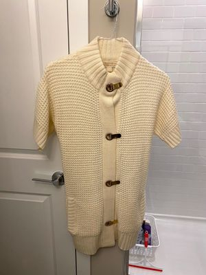 Brand New Michael Kors Cream and Gold Oversized Sweater for Sale in Lisle, IL