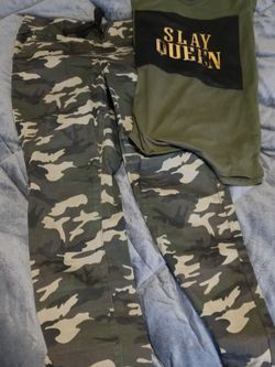 Camo Outfit Very cute for Sale in San Angelo,  TX