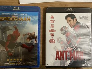 Spider-Man & Ant-Man Blu Ray for Sale in Columbus, OH