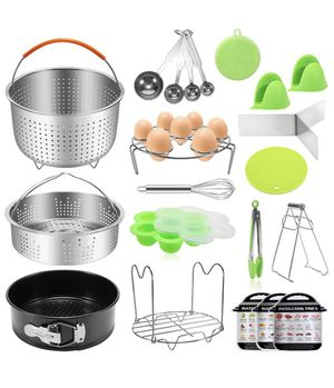 21PCS Pressure Cooker Accessories Set For Instant Pot 5,6,8 QT for Sale in Barre, VT