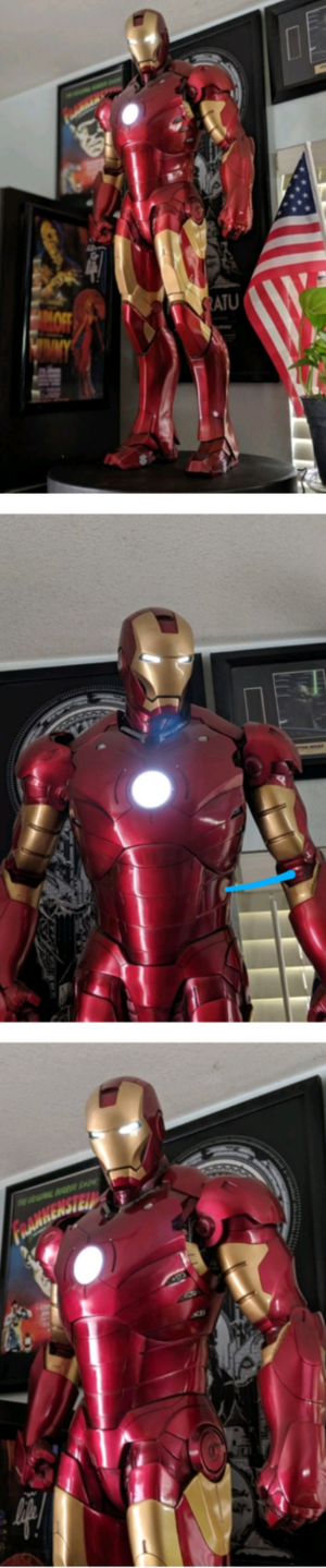 Sideshow Collectibles Marvel Iron Man Mark III Legendary Scale Statue Avengers Maquette Ironman for Sale in Whittier, CA