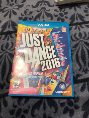 Nintendo Wii U Just Dance 2016 for Sale in Chicago, IL