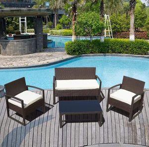 4Pcs rattan patio furniture for Sale in Orlando, FL