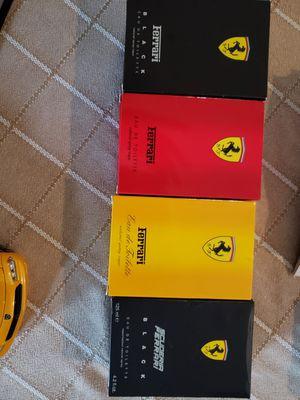 Ferrari mens cologne collection..4 bottles for Sale in Alexandria, VA