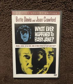 What Ever Happened With Baby Jane? - Bette Davis And Joan Crawford DVD Set With 2-Disc for Sale in Chapel Hill,  NC