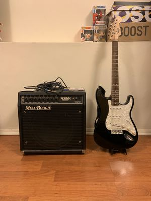 Mesa/Boogie Studio 22+ Amp and Squier Strat for Sale in Staten Island, NY