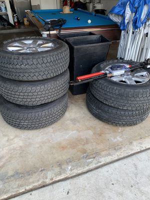 Jeep tire and rims for Sale in Ontario, CA