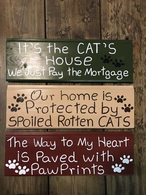 Cat signs for Sale in Durham, NC
