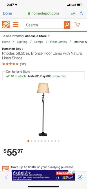 Floor lamp new for Sale in Cape Coral, FL
