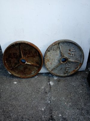 45LB 20.4 WEITHS for Sale in Hazard, CA