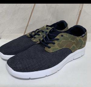 Vans Men's OTW Prelow Suede/Denim Shoes Navy/ Cammo Size 13 for Sale in Perris, CA