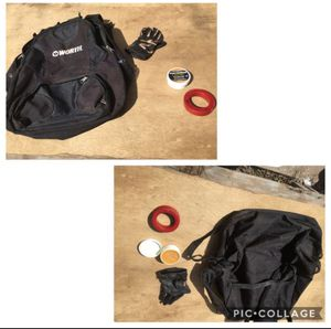 Baseball Lot: Baseball Bag / Backpack, Bat weight, Glove Conditioner. for Sale in Phoenix, AZ