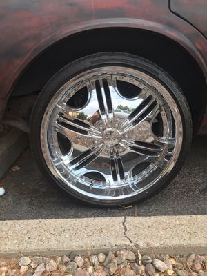 22 inch rims for Sale in US