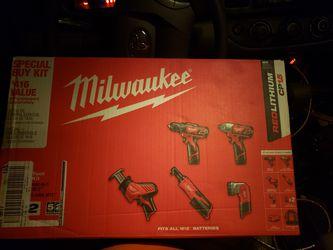 Milwaukee 12v 5 tool set for Sale in Marbury,  AL